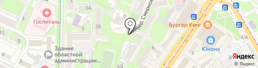 Имидж на карте Смоленска