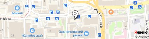 7я на карте Смоленска