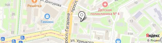 Мечта хозяйки на карте Смоленска