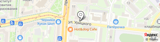 Сигирия на карте Смоленска