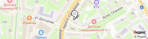 Почта Банк, ПАО на карте Смоленска