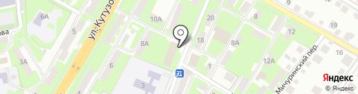 Завднепровье, МБУК на карте Смоленска