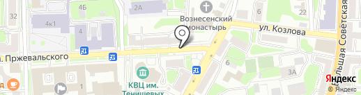ЕВРОСТИЛЬ на карте Смоленска