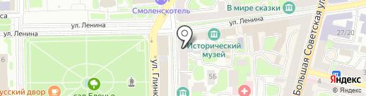 Проффото на карте Смоленска
