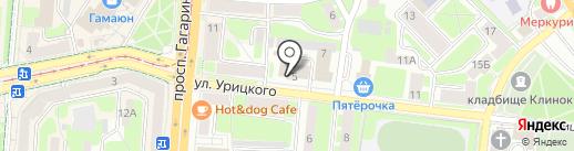 Центр противопожарной пропаганды и общественных связей на карте Смоленска