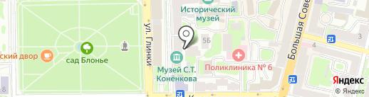 FOTO.RU на карте Смоленска