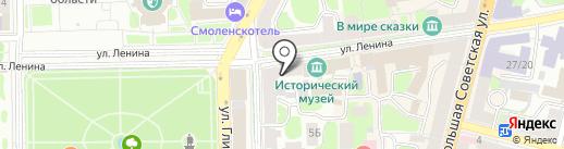 МарьИванна на карте Смоленска