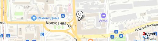 Личные наличные на карте Смоленска