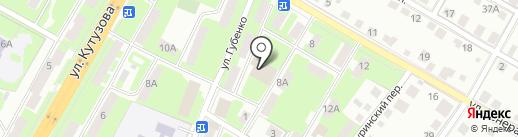 Школа танца Руслана Дивакова на карте Смоленска