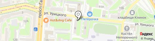 Защита-гарант на карте Смоленска