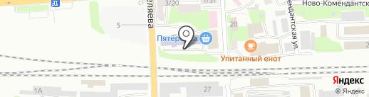 Московский государственный университет путей сообщения на карте Смоленска