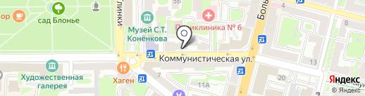 ЖЭУ №10 на карте Смоленска