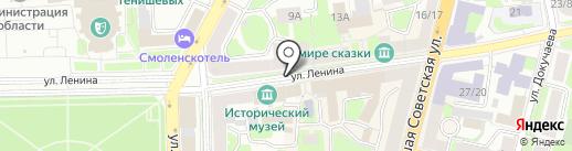 Оптик плюс на карте Смоленска