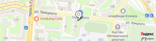 Адвокатский кабинет Перебейнос И.Е. на карте Смоленска
