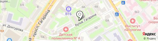 Сигал на карте Смоленска