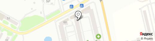 Гражданстрой на карте Смоленска