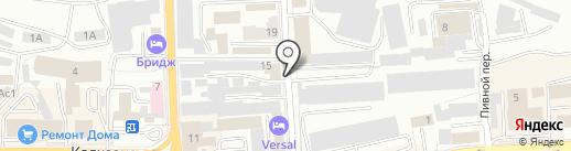 Смоленскрыба, ЗАО на карте Смоленска