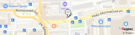 Kristina A на карте Смоленска