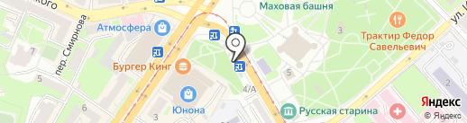 Арт Флора на карте Смоленска