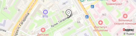 АИМИ на карте Смоленска