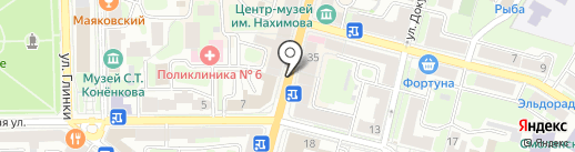 Чарующие самоцветы на карте Смоленска