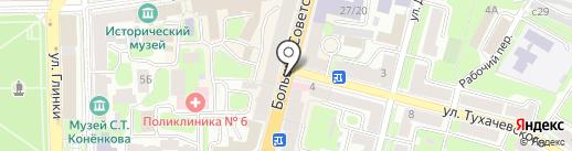 Pedant на карте Смоленска