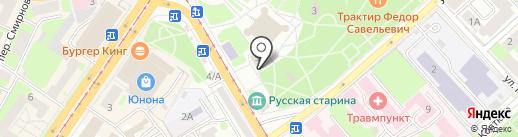 Центр культуры, МБУК на карте Смоленска