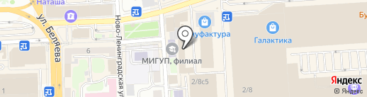 Мир Каминов на карте Смоленска