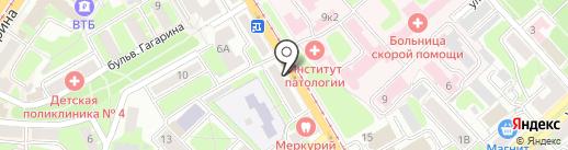 Золотое руно на карте Смоленска