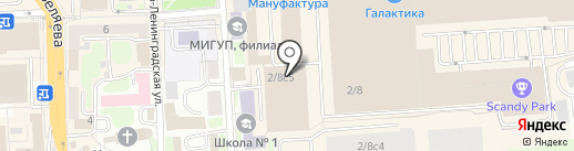 Правильная сантехника на карте Смоленска