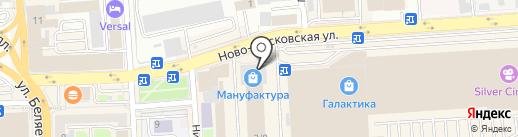 СКА на карте Смоленска