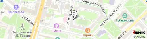 Балтинвестбанк, ПАО на карте Смоленска