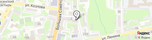 СДЭК на карте Смоленска