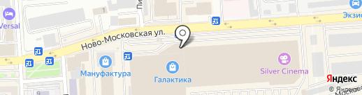 SmolArchery на карте Смоленска