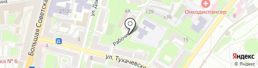 СПСР-ЭКСПРЕСС на карте Смоленска