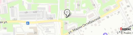 СКМ на карте Смоленска