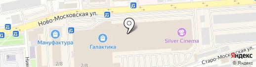Саломея на карте Смоленска
