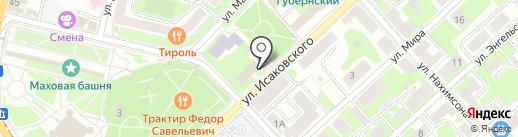 Рен ТВ Смоленск на карте Смоленска