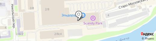 Много мебели на карте Смоленска