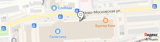 Мирасик на карте Смоленска