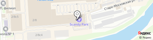 Galaxy Park на карте Смоленска