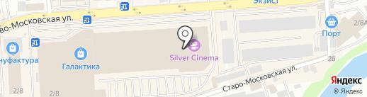 Стрелок на карте Смоленска