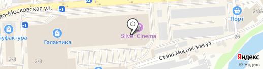 Глазурь на карте Смоленска