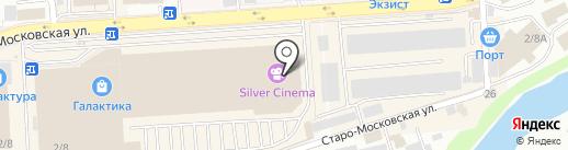 Smoothie house на карте Смоленска