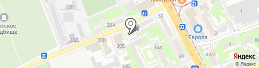 Киоск по продаже молочных продуктов на карте Смоленска