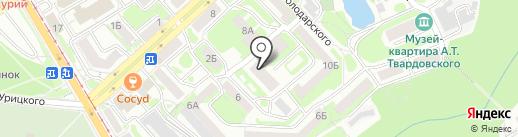 ВотСвет Логистик на карте Смоленска