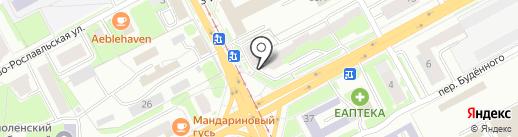 Энергокомплект на карте Смоленска