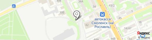 TRAINING BASE BUNKER на карте Смоленска