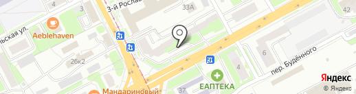 СпецМеталлСтрой на карте Смоленска