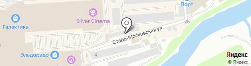 Полимерпродукт на карте Смоленска